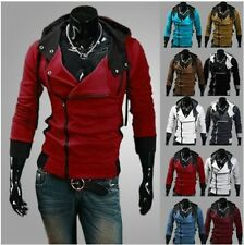 New Fashion Mens Slim Hoodie Coat Jackets Anime Cosplay Costume Multicolor Tops