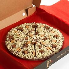 Gourmet Chocolate Pizza 7 Inch Belgian Milk Choc Gift Present Stocking Filler
