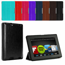 "SMART THIN LEATHER CASE COVER FOR AMAZON KINDLE FIRE HD 7"" 2 (2nd Gen. 2013)"