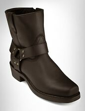 "Dingo Rev Up 7"" Zip Harness Boots Casual Male XL Big & Tall"