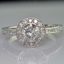 EGL  Certified Diamond Wedding Ring Round Cut Diamond 2.32 Carat