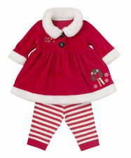 Baby Child Toddler Christmas Girls Coat + Pants 2PCS Clothes Set Suits Outfits