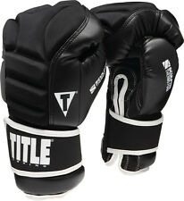 Title Thermo Sparring Gloves Boxing Kickboxing Muay Thai MMA Fitness Gear