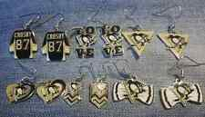 Pittsburgh Penguins dangle earrings SALE 30% - 40% OFF & 8 STYLES TO CHOOSE FROM