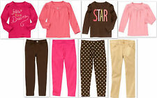 NEW GYMBOREE girls STAR OF THE SHOW long sleeve leggings pants 4 5 6 6S 7 8 NWT