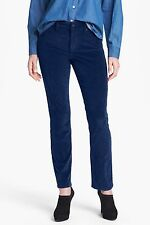 NEW NYDJ Not Your Daughters Jeans Sheri SKINNY Nightfall blue navy corduroy P