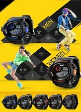 Multi-Functional Fashion S-Shock Unisex Sports LED Digital Waterproof  Watches
