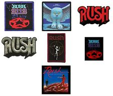 Rush Sew On Patch/Patches NEW OFFICIAL. Choice of 3 designs