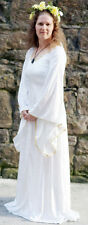 Pagan-Medieval-Larp-Sca-Wicca-Handfasting-Wedding IVORY PAGAN DRESS  All Sizes
