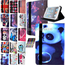 """Universal Folio Stand Leather Case Cover Custodia per ANDROID 9,7 """" 10.1"""" Tablet PC"""