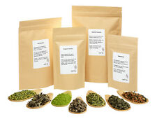WELLTEA Japanese SENCHA Green Tea Variations (High Quality) - 250g
