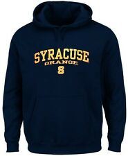Syracuse Orangemen NCAA Licensed Men's Pullover Hoodie Navy Big & Tall Sizes