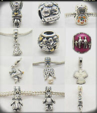 Love and Family Forever Bonds Fairy Pixie Cupid Angel Wings 925 silver Charms