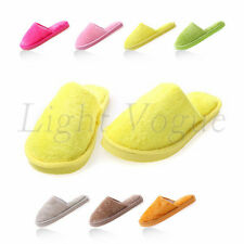 Cool Women Men Home Anti-slip Shoes Soft Warm Cotton House Indoor Slippers 45