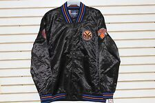 New York Knicks Satin Jacket By JH Design 100% Authentic Licensed NBA Product