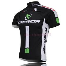 New Men Cycling Bike Short Sleeve Shirt Clothing Bicycle Sports Jersey Top S-4XL