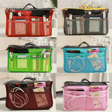 Handbag Pouch Travel Multi-function Makeup Bag In Dual Insert Organizer Storage