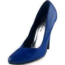ELLIE Shoes Womens Sexy Classic Pumps High Heel 8220 BLUE