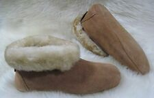 Australian Sheepskin Slippers Soft Sole Women's Size 5 6 7 8 9 10 wool shearling
