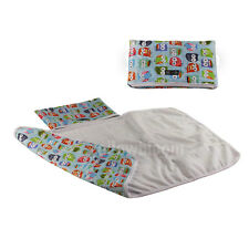 Baby Portable Foldable Washable Travel Nappy Diaper Changing Mat Compact