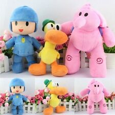 1PC Pocoyo ELLY PATO Soft Plush Stuffed Figure Toy Doll Children's Gift