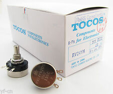 5x Tocos Cosmos Potentiometer Pots RV24YN 20S 100kΩ Linear tapers RoHS 11 style