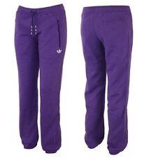 Adidas Fleece Cuffed Pant Damen Jogginghose Sweathose Winter Hose Firebird lila