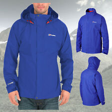 Berghaus Mens Bowfell Waterproof Goretex GTX Jacket Coat - Intense Blue - New