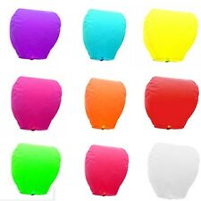 5 Pcs Chinese KongMing Sky Fire Lanterns For Party Wedding Birthday Hot 9 Color
