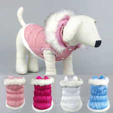small dog Winter warm waterproof  Jacket coat pet puppy Hoodies clothes clothing