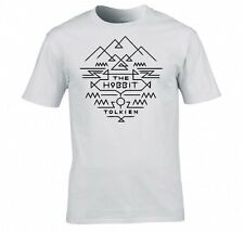 "LORD OF THE RINGS/ THE HOBBIT ""TOLKIEN AZTEC"" T SHIRT"