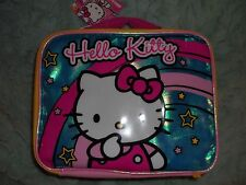 HELLO KITTY CHILDRENS FULL SIZE LUNCH BOXES MULTI DESIGNS NWT FREE SHIPPING