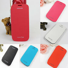 Neuf PU Cuir Etui Housse Coque Flip Cover Protection Pr Samsung Galaxy S3 i9300