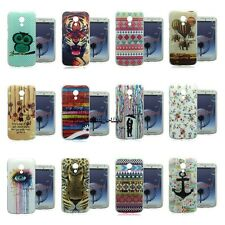 TPU Soft Case Cover Gel Silicone Rubber Back For Motorola Moto G 2nd Gen Xt1068