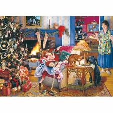 Christmas Jigsaws by Gibsons.  Variety of Sizes. All New and Sealed