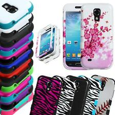 For Samsung Galaxy S4 Mini ShockProof Hard Rubber Protective Case Cover
