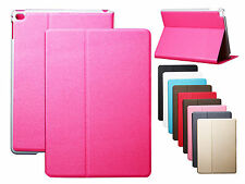 For Apple iPad 6 Air 2 Dull Polish Ultrathin Leather Flip Stand Case Cover Skin