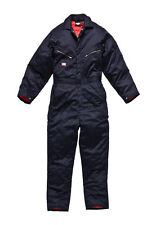 NEW Dickies Men's Duck Insulated Coveralls Navy Blue NEW WITH TAGS