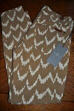 NWT 7 Seven for All Mankind The Cropped Skinny Jean Women 30 31 Chevron Print