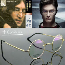 Round Titanium Mens Eyewear Silver Vintage Cable Gold Wire Frame Reading Glasses