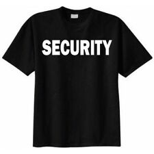 security t shirts- Printed Large Front and Back