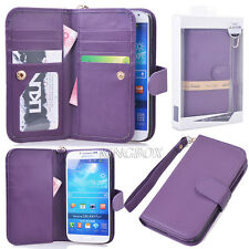 Premium Leather Women Handbag Wallet Card Slot Case For Samsung S 3 4 5 Note 2