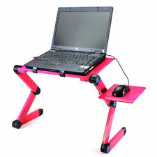 Folding Table Stand For Laptop Notebook Comfortable Back Comfort Adjustable Bed