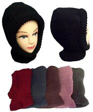 1Pc or Wholesale Lot 6Pc or 1Dz Knitted Winter Hat Neck & Ear Warmers (EZWCA2531