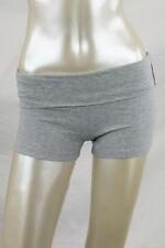 Women's Yoga shorts with fold-over waistband cotton spandex