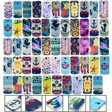 Soft TPU Rubber Patterned Back Case Cover For for Samsung Galaxy Phones Skin