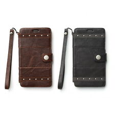 Zenus Bohemian M Diary Genuine Leather Cover Case for Samsung Galaxy Note 4