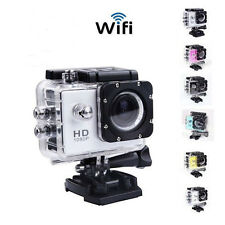 Wifi Full HD 1080P SJ4000 Sports Action Waterproof Helmet Camera DVR 6 Colors