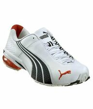 Puma White and Navy Men Sports Shoes - 18438609