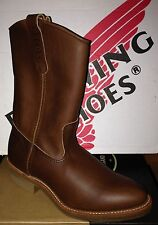 1st Quality Red Wing 1155 Men's Pecos Pull-on Boots Made in the USA NEW w/ BOX